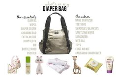 The Diaper Bag Essentials | Little Baby Garvin