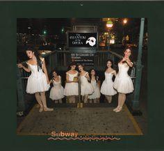 "Scans from the 2008 ""Adventures of the Phantom Ballerinas"" calendar. Dance Poses, Love Never Dies, Ballet Girls, Secret Love, Phantom Of The Opera, Bridesmaid Dresses, Wedding Dresses, Musical Theatre, Theater"