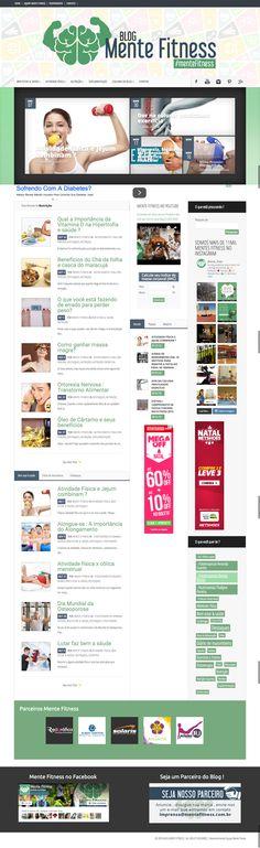 Criação de layout e finalização em WordPress. #css #php #javascript #jquery #wordpress #photoshop #site #design