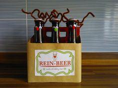Rein Beer How To Make Beer, Christmas, Xmas, Navidad, Noel, Natal, Kerst