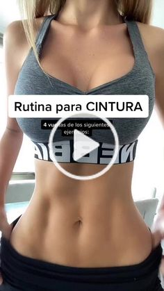 Yuli cagna( has created a short video on TikTok with music Doja Cat Say So but its slowed and lofi. Abs Workout Routines, Gym Workout Tips, 30 Minute Workout, Fitness Workout For Women, Butt Workout, Workout Videos, Fitness Tips, Slim Waist Workout, Gym Workout For Beginners