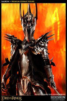 Estátua Senhor dos Anéis de Sauron com Quase 1 Metro de Altura!
