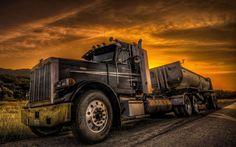 hd semi truck images