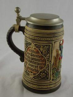 Wonderful Vintage GERMAN Stein Tankard Collectable - BG B94 | eBay