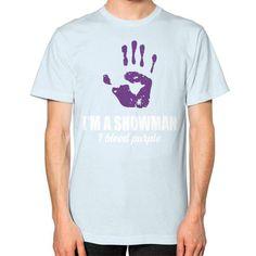 IM A SHOWMAN Unisex T-Shirt (on man)