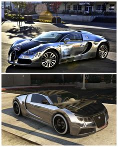 5 of the Coolest GTA V Cars and their real life models. The Adder is styled on the one of the worlds fastest supercars. Check out it! #video #Veyron #GTAV