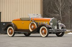 <i>From the collection of Paul Teutul, Jr.</i><BR /><B>1931 HUDSON BOATTAIL<br /> </B><BR />Chassis no. 916483