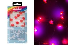 "These unicorn <a href=""http://shop.nylon.com/products/unicorn-lights"" target=""_blank"">string light</a>s:"