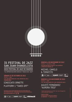 Jazz poster - Design by: www.belbembe.com