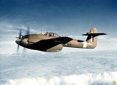 Westland Whirlwind Mk. I in flight, circa 1941