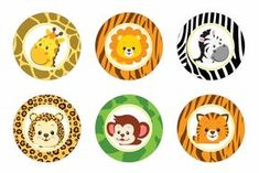Safari cupcake toppers Safari baby shower por DreamyPartyPrintable Source by Jungle Theme Birthday, Safari Birthday Party, Jungle Party, Safari Theme, Baby Birthday, Safari Cupcakes, Animal Cupcakes, Safari Party Decorations, Birthday Decorations