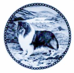 Collie - Rough - Tricolour / - Lekven Design Dog Plate 19.5 cm /7.61 inches Made in Denmark NEW with certificate of origin PLATE -7223 * Be sure to check out this awesome product. (This is an affiliate link and I receive a commission for the sales)