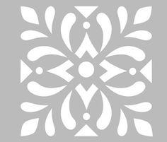 Stencil Patterns, Stencil Designs, Print Patterns, Stencils, Stencil Decor, Border Embroidery Designs, Quilting Designs, Motif Arabesque, Deco Cuir