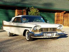 1957 Plymouth Fury Convertible/ W/hemi