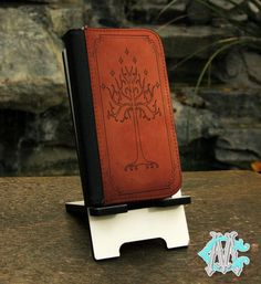FREE SHIPPING! The Lord of the Rings White Tree - iPhone 4/4s - 5/5s - 5c - 6 Wallet Folio Case
