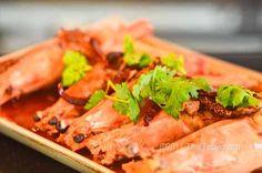 Goong Rad Sauce Makham (กุ้งราดซอสมะขาม) Prawn with Tamarind Sauce