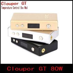 Original Cloupor GT 80W Electronic Cigarette Mods Dual 18650 battery Temperature Control Box Mod for E Cigarettes Atomizer                                        Original Cloupor G  #Vaporizer http://www.vaporgasme.com/produk/original-cloupor-gt-80w-electronic-cigarette-mods-dual-18650-battery-temperature-control-box-mod-for-e-cigarettes-atomizer/