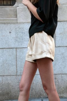 Shorts - Got these very nice for a dressy night out with heels :)