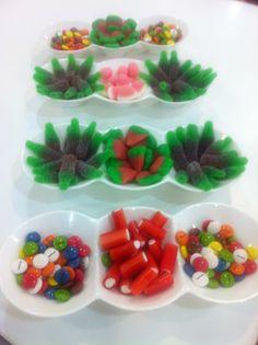 Pequeños cuencos dulces!! Preparando el Candy Bar para los peques (y los que no lo son tanto!!)  www.velagua.com