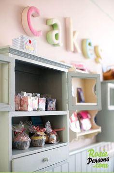 VINTAGE & CHIC: decoración vintage para tu casa [] vintage home decor: Mucho más que un salón de te [] Much more than a tea room