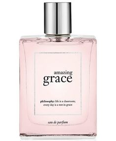 deepen your love of grace. amazing grace eau de parfum is our best-selling fragrance in a concentrated form. approachable and always appropriate, this clean floral scent makes a woman feel amazingly c