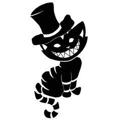 Tattoos Sketch, Cheshire Cat #tattoo #tattoossketch #sketch
