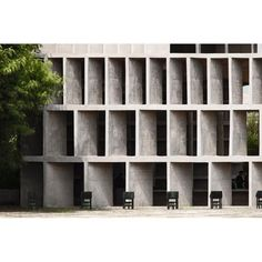 "Gefällt 232 Mal, 1 Kommentare - A R C H I T E C T U R E (@promenadearchitecture) auf Instagram: ""Tower of Shadows, Le Corbusier, Chandigarh, India"""