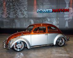 Classic VW custom - beautifully done Two Tone