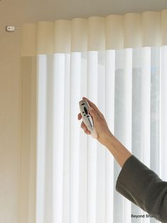 Luminettes are a great alternative to Vertical Blinds for sliding glass doors and large windows.