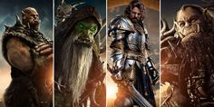Discover the Character Posters for the upcoming Warcraft Movie. The peaceful realm of Azeroth stands on the brink of war as its civilization faces a fearsome race of invaders: Orc warriors fleeing their dying home to colonize another. As a portal ope...