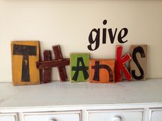 The Potter's Place: Give Thanks