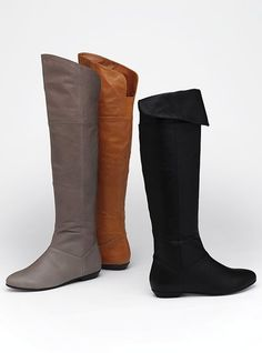 VS  Over the knee boots in Cognac (tan). Looks like a must have for fall! $109