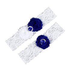 Dreamlan Womens Lace Garters Multi Colors with Crystal Navy White Dreamlan http://www.amazon.com/dp/B01AHZAMXM/ref=cm_sw_r_pi_dp_8sM1wb02J5QH2