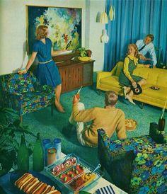 Kroehler's Party Proof furniture,1963