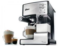 Cafeteira Espresso Oster Prima Latte 15 Bar - Prata 6601S