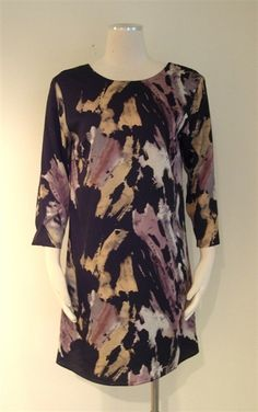 $88 Printed Shift Dress via boutiika.com
