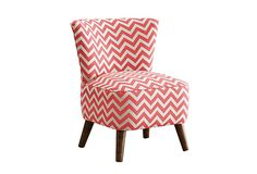 Barnes Chair, Coral on OneKingsLane.com