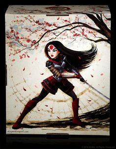 This DC Super Hero Girls Katana Figure Is Slashtastic