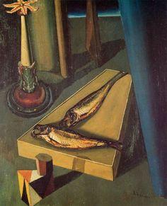 """""""Sacred Fish"""", 1919, Giorgio de Chirico."""