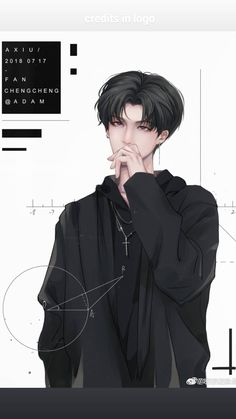 By Axiu Fan Chengcheng Hot Anime Boy, Cute Anime Guys, Anime Love, Manga Boy, Manga Anime, Anime Art, Fanarts Anime, Anime Characters, Style Anime