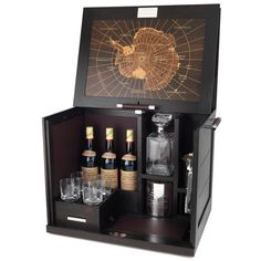Antarctic Whisky Cabinet by Alfred Dunhill