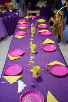 Tavola Rapunzel party