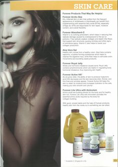 Protect your skin Nutrition Guide, Health And Nutrition, Forever Living Business, Forever Aloe, Forever Living Products, Essential Fatty Acids, Beauty Hacks, Beauty Tips, Aloe Vera