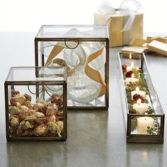 Clarus Large Square Box   Crate and Barrel