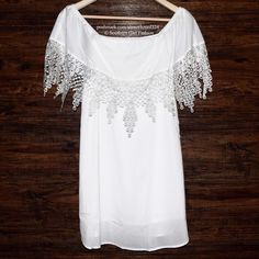 LACE FRINGE TOP Off-The-Shoulder Bohemian Festival Size Large. New with tags. $98 Retail + Tax.   Chic off the shoulder top with crepe lace overlay.  Double layered semi sheer chiffon. Pair with denim or shorts for a timeless look.    Polyester, cotton. Imported; REVERSEOfficial.    ❗️ Please - no trades, PP, holds, or Modeling.    Bundle 2+ items for a 20% discount!    Stop by my closet for even more items from this brand!  ✔️ Items are priced to sell, however reasonable offers will be…