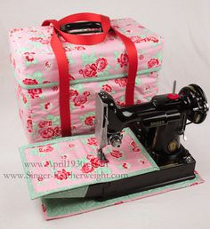 Pattern for Featherweight Case Tote, Sleeve and Table Mat