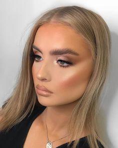 Nude Makeup, Glam Makeup, Skin Makeup, Eyeshadow Makeup, Beauty Makeup, Hair Beauty, Summer Makeup Looks, Makeup Eye Looks, Bridal Makeup Looks