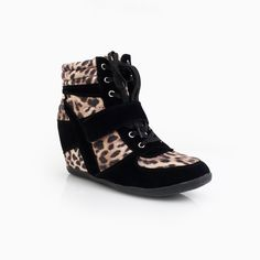 Urban Style Wedge Sneakers
