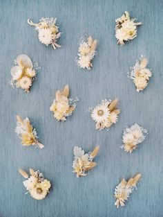 Dried boutonnieres. Calamigos Ranch wedding. Plenty of Petals florals. The Grovers Photography.
