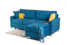Narożnik Oslo 6 - świeży skandynawski styl #furniture #meble #oslo #scandinavian #style #sofa #poland